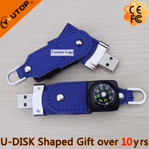 Leather Company Gift with Custom Logousb Flash Drive (YT-5113) pictures & photos