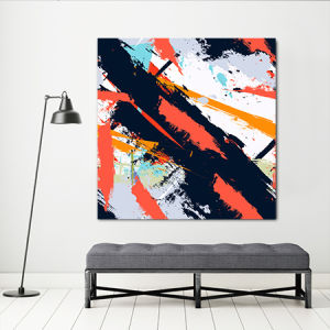Abstract Black and Red Wall Decor pictures & photos