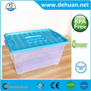 Cute Clear Plastic Kids Storage Box for Home & Outdoor pictures & photos