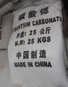 High Quality Low Price Strontium Carbonate 97% pictures & photos