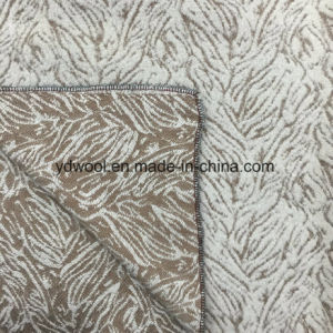 Marble Style Jacquard Wool Fabric in Ready pictures & photos