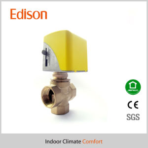 Brass Electric Control Valve for Fan Coil System (KLV) pictures & photos