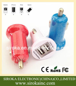 Wholesale Mobile Phone Car Charger with 2 USB Ports pictures & photos