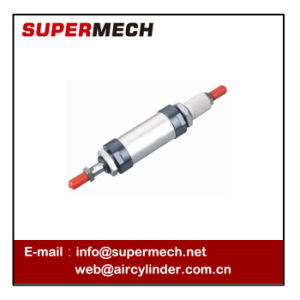 Malj Double Shaft Ajustable Stroke Double Acting Mini Pneumatic Cylinder pictures & photos