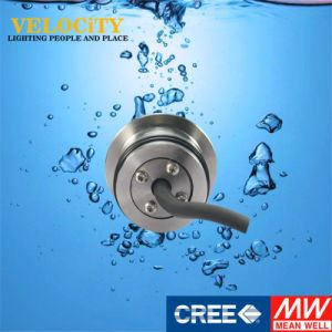IP68 Color Changing Stainless Steel 316 Recessed LED SPA Pool Underwater Lights pictures & photos