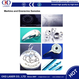 Ce Metal Phone Case 20W Fiber Laser Marking Machine pictures & photos