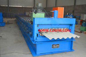Color Steel Corrugated Roofing Sheet Roll Forming Machine pictures & photos