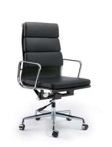 Aluminium Leather Eames Hotel Leather Swivel Office Chair pictures & photos