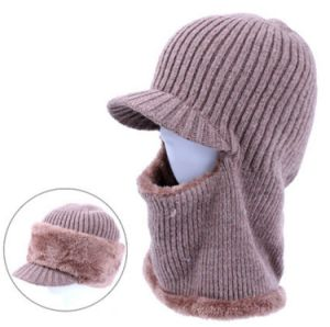 Knitted Balaclava with Little Brim pictures & photos