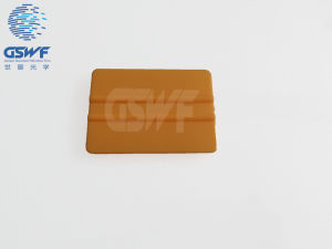Yellow Hard Card Squeegee pictures & photos