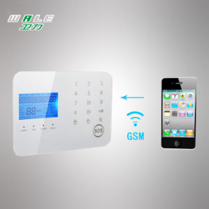 GSM PSTN Wireless Security Burglar Alarm System with Touch Keypad pictures & photos