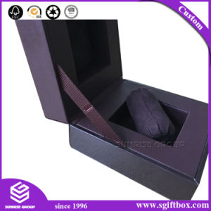 Simple Style Custom Spot UV Logo Cardboard Gift Watch Box pictures & photos