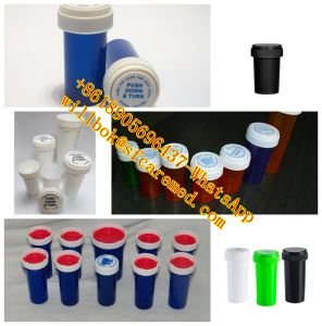 Medical Child Resistant Pharmacy Vials with Reversible Cap pictures & photos