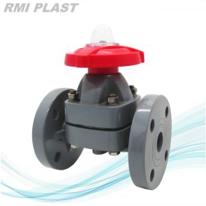 Socket End Plastic Diaphragm Valve pictures & photos