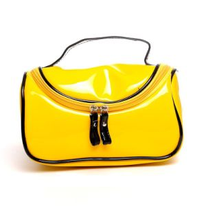 Fashion Design Hand Cosmetic Bag Patent Leather Cosmetic Case pictures & photos