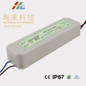 Plastic LED Driver IP67 24V100W pictures & photos