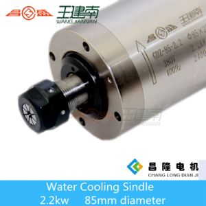 85mm Dia 2.2kw High Frequency Spindle Motor for CNC Woodworking Engraving Machine pictures & photos