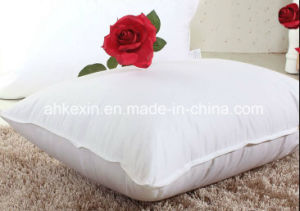 Duck Feather Filling Cotton Pillow pictures & photos