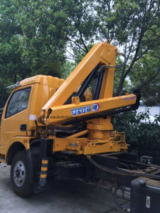 4 Tons Lifting Lorry Truck with Crane 8t Wrecker with Crane Truck pictures & photos