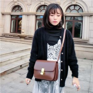 Shoulder Bag Handbag Vintage Cow Leather Bag Handbags Ladies Bag Designer Handbags Fashion Bags Women Bag (3920)