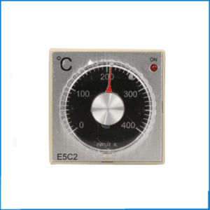 E5c2 AC 220V Relay Output K Input Pointer Temperature Controller with Socket E5c2 220VAC Series pictures & photos