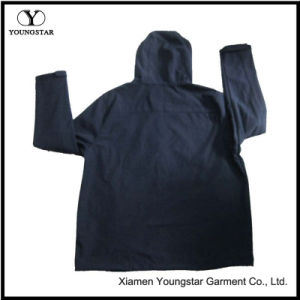 Ys-1071 Mens Blue Polar Fleece Hooded Softshell Jacket Clothing for Men pictures & photos