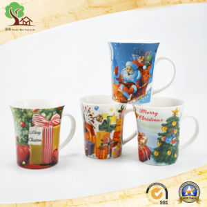 christmas Porcelain Cup Custom Logo Ceramic Coffee Cup Low Price Wholesale pictures & photos