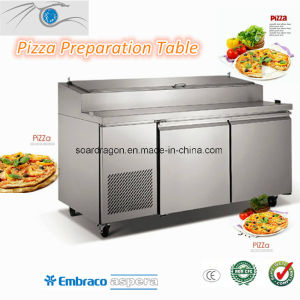Refrigerated Pizza Work Table (PIZZAL2) pictures & photos
