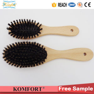 2017 Hot Style Professional Wood Boar Bristle Hair Brush (JMHF-63) pictures & photos
