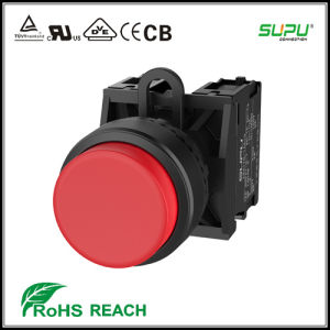 Extended Latch 1nc 1nc Waterproff Pushbutton Switch pictures & photos