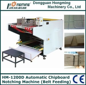 Automatic Greyboard V-Shape Notching Machine (HM-1200D)