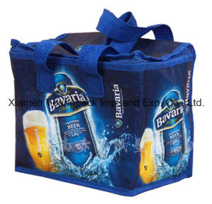 Promotional Custom Orange Non-Woven Fabric Small Cool Bag for Frozen Food pictures & photos