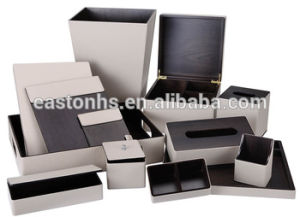 Elegant Popular Hotel Leather Amenities Leather Product pictures & photos