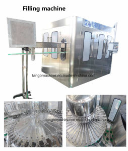Automatic 500ml 1500ml Bottle Pure Water Washing Filling Capping Making Machine Line with Reverse Osmosis Drinking Water Treatment System pictures & photos