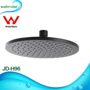 Matte Black Square Shower Head Rain Shower Water Outlet pictures & photos