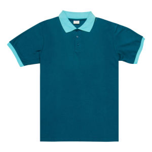 Customized Polo Shirt with Embroidery Patch (BG-M273) pictures & photos