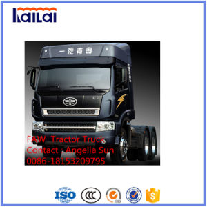Truck FAW Jiefang 6*4 Tractor Head 380HP for Philippine Market pictures & photos