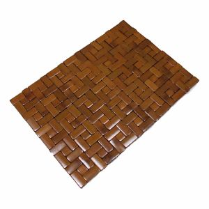 Block Bamboo Table Mat for Tabletop & Flooring pictures & photos