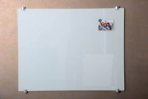 Ultra White Magnetic Glass Writing Message Whiteboard