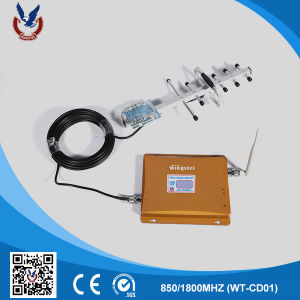 Professional CDMA 3G Mobile Phone Data Signal Booster for Home pictures & photos