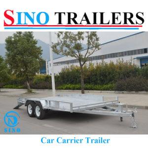 Australia Hot Sale 2t Galvanizing Car Carrier Trailer pictures & photos