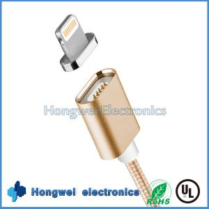 2 in 1 USB 2.0 to Power Charging and Magnetic Date USB Cable for iPhone