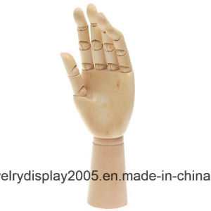 "4.5 ""and 6"" Natural Color Wooden Hand Use for Ring pictures & photos"