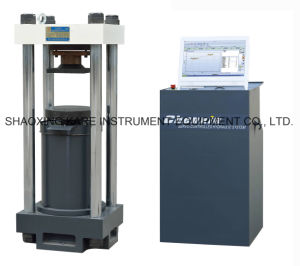 Computerized Electro-Hydraulic Servo Compression Testing Machine (YAW-2000) pictures & photos