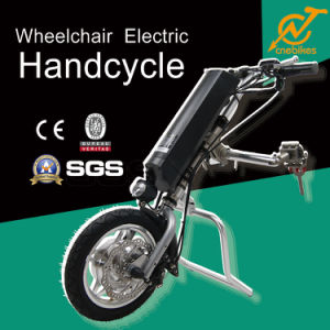 Professional 36V 250W Electric Wheelchair Handcycle with LED Light for Sale pictures & photos