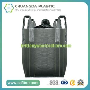 Carbon Black FIBC Big Bulk Bag Super Sack with Spout pictures & photos