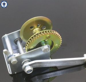 600lbs Hand Winch Yellow Zinc Plated pictures & photos