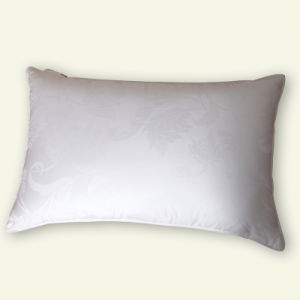 Grande Hotel Quality Pillow Insert, Duck Down with Cotton Jacquard Cover Pillow pictures & photos