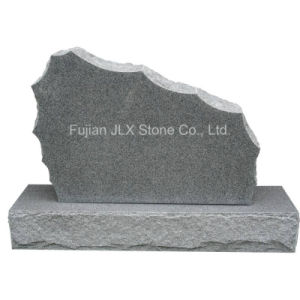 G633 Grey Granite Boulder Gravestone in American Style pictures & photos