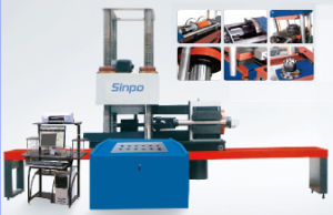 Microcomputer control electro-hydraulic servo stress and shear testing machine pictures & photos